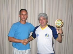 Pena fez a entrega do troféu