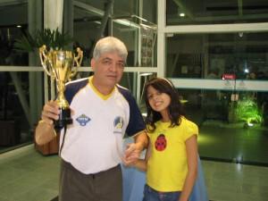 Armandinho foi Campeão invicto da Etapa