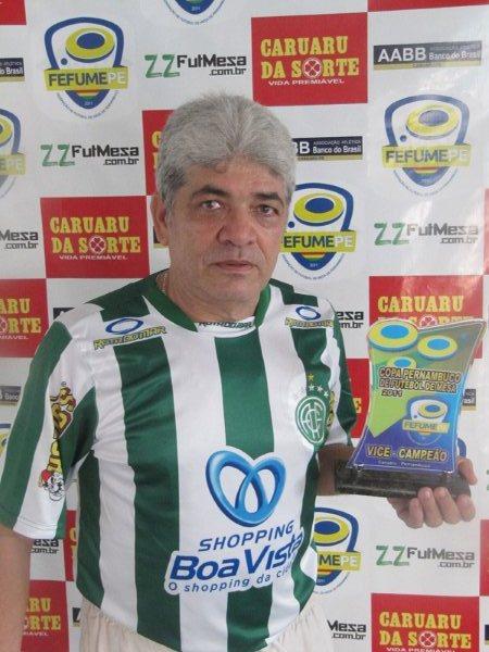 Armandinho vice Campeão pelo América