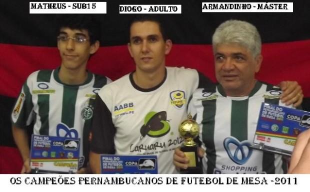 Os Campeões Pernambucanos 2011