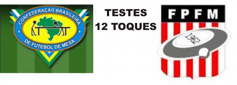 TESTES 12 TOQUES