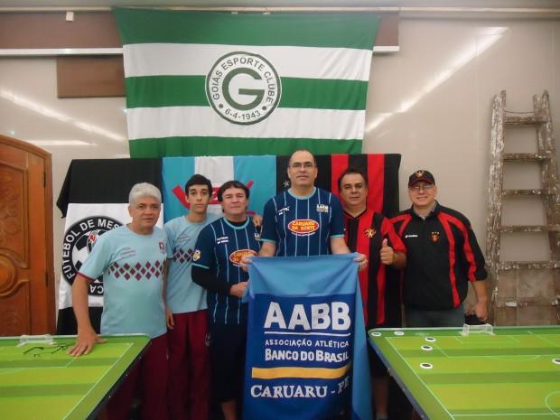ARMANDINHO e MATHEUS (Recife Arena)- ZÉ EDSON e ÉDER ( AABB Caruaru) - HUNBERTO e PENTINHO (Sport)