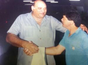 Com Manoel Tubino - Presidente da antiga CND - Conselho Nacional de Desportos