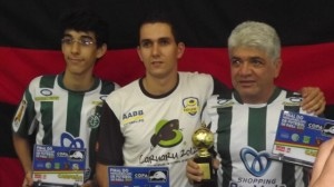 Campeão Pernambucano Master 2011 jogando pelo América